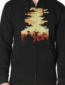 Valley Defenders Zipped Hoodie
