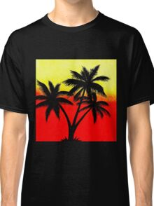 Palm Tree Silhouette Classic T-Shirt
