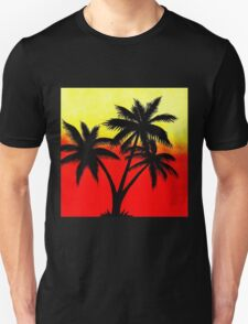 Palm Tree Silhouette Unisex T-Shirt