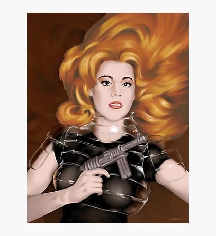 Barbarella Photographic Print
