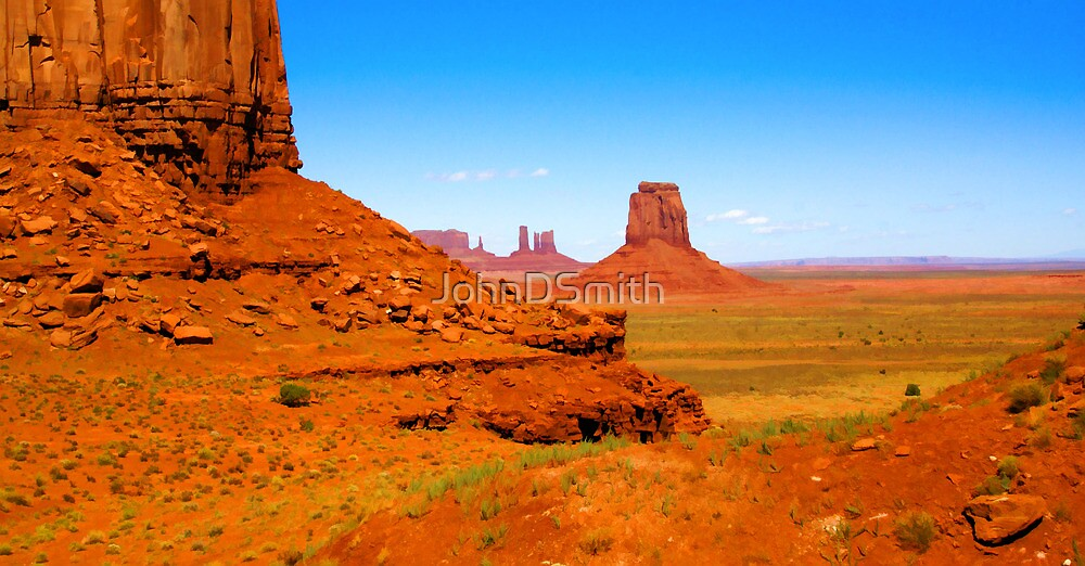 John Ford's Monument Valley by JohnDSmith