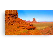 John Ford's Monument Valley Metal Print