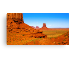 John Ford's Monument Valley Canvas Print