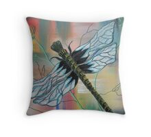 Alivia the Dragonfly Throw Pillow