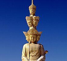 Buddha Statue, Emei Shan, Sichuan, China by DaveLambert
