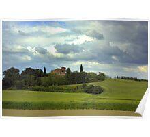 Tuscany landscapes Poster