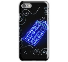 Dr Who Tardis painted with LED light iPhone Case/Skin