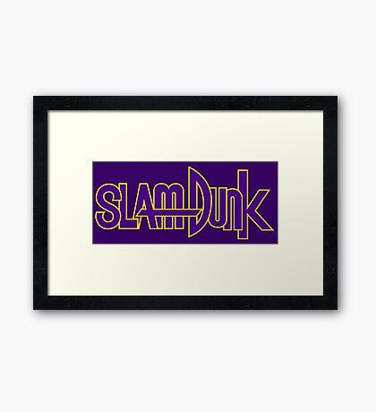 Slam Dunk Logo (Kainan) Framed Print