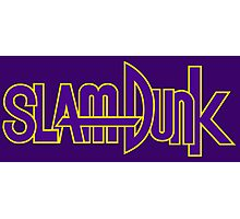 Slam Dunk Logo (Kainan) Photographic Print