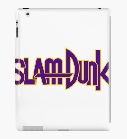 Slam Dunk Logo (Kainan) iPad Case/Skin
