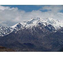 Hindu Kush Range, Bagram, Afghanistan Photographic Print