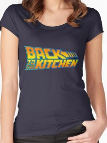 Back to the Kitchen Women's Fitted Scoop T-Shirt