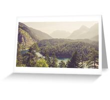 Zugspitzblick - Austrian Alps Greeting Card
