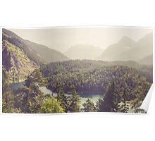 Zugspitzblick - Austrian Alps Poster