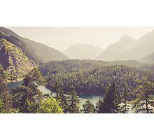 Zugspitzblick - Austrian Alps Photographic Print
