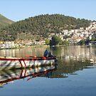Kastoria Lake by jimkoul