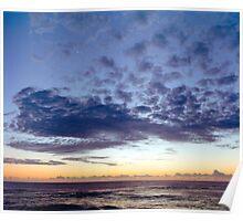 Sunset at Brunswick Heads Poster