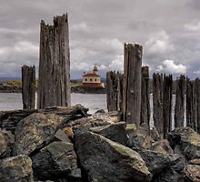 Coquille Lighthouse HDR by LucyAbrao
