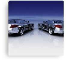 Mercedes 3D Render Canvas Print
