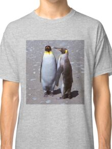 King Penguin Conversation, 'Oh no! I don't think so.' Classic T-Shirt