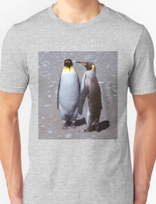 King Penguin Conversation, 'Oh no! I don't think so.' T-Shirt