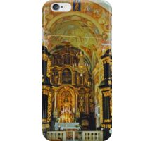 Altar, Parish Church of the Virgin Mary, Ptujska Gora, Slovenia iPhone Case/Skin