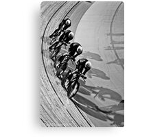 New Zealand Mens Team Pursuit  Canvas Print