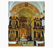 Altar, Parish Church of the Virgin Mary, Ptujska Gora, Slovenia Unisex T-Shirt