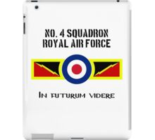 No. 4 Squadron RAF iPad Case/Skin