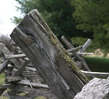 Harpers Ferry Fence 2 by AndreaLStuart