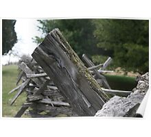 Harpers Ferry Fence 2 Poster