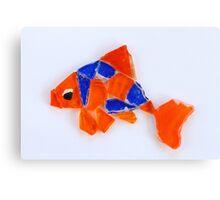 Freddie the Goldfish Canvas Print