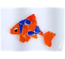 Freddie the Goldfish Poster