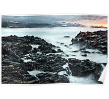 Flowing sunset - Gran Canaria Poster
