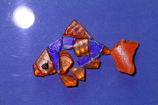 Freddie the Goldfish by Moonlight by MonniLovack