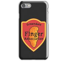 Greendale Finger Association iPhone Case/Skin