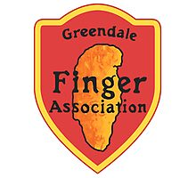 Greendale Finger Association Photographic Print