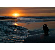Sunset Capture Photographic Print
