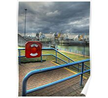 Thames Barrier View Poster