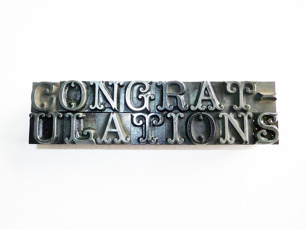 congratulations by rejectamenta
