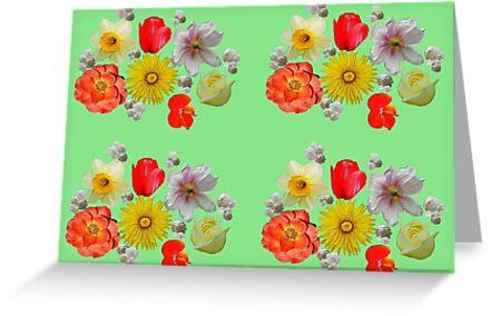 Flower Frenzy by Christine Lake