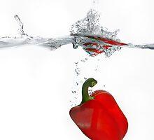Red Pepper Splash!! by Sally Green