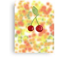 Sparkling fruit Canvas Print