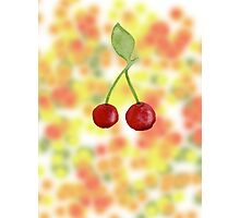 Sparkling fruit Photographic Print