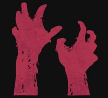 Zombie Hands Gory Monster by LuckyShirt505