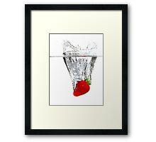 Strawberry Torpedo!! Framed Print