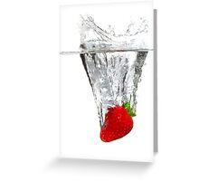 Strawberry Torpedo!! Greeting Card