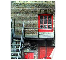 Red Window - Greenwich Royal Observatory Poster