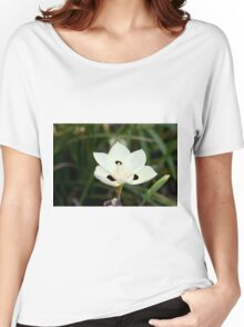White Delight Women's Relaxed Fit T-Shirt