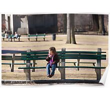 Patience in the Park Poster